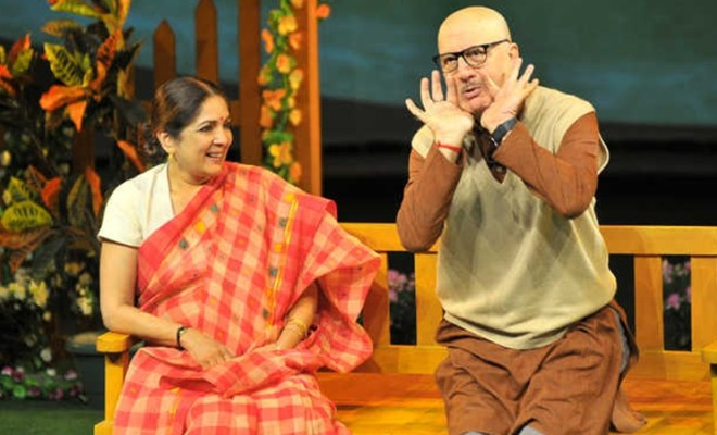 There can be no retakes in theatre: Anupam Kher