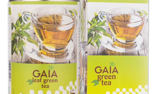 Gaia green tea for burning excess fat