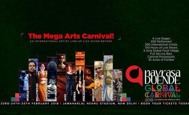 Navrasa Duende Global Carnival at JLN stadium