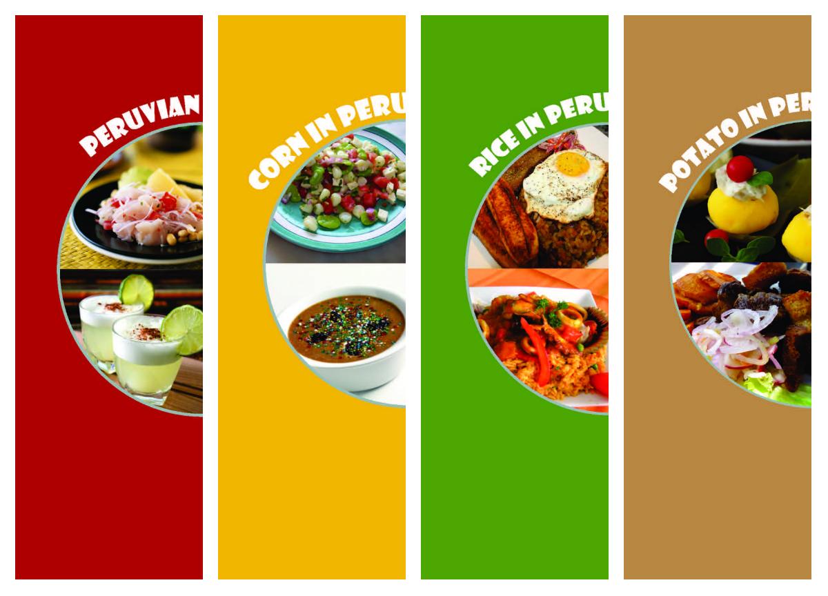 Four cookbooks on Peruvian cuisine